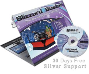 Blizzard Buster Snow Business Software