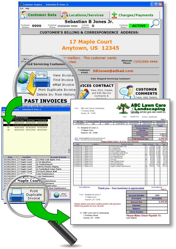 Lawncare Software