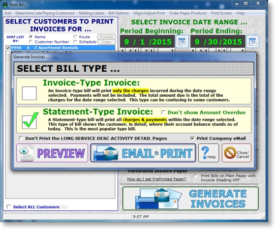 Invoicing Software for Lawn Businesses