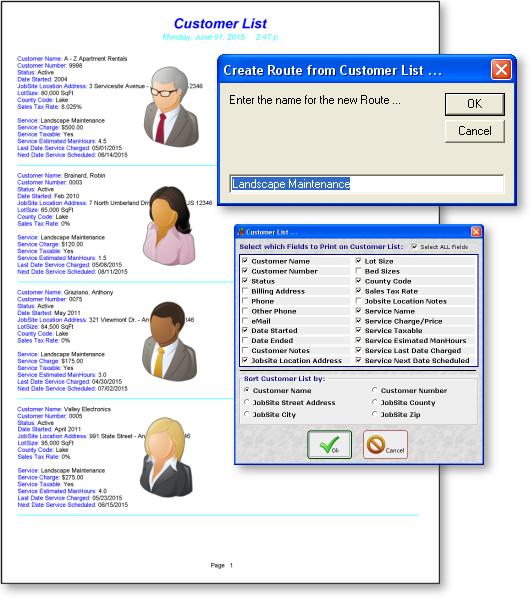 Landscape Routing Software