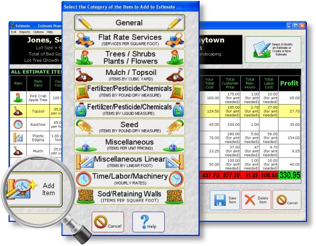 Landscaping Estimating Software