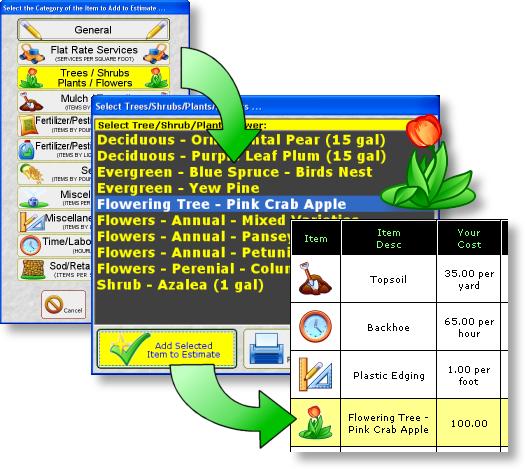 Landscape Job Estimating Software