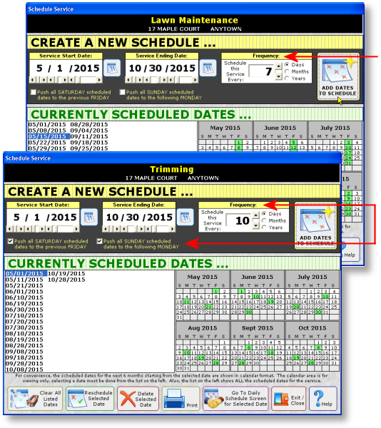 Lawn Care Scheduling Software