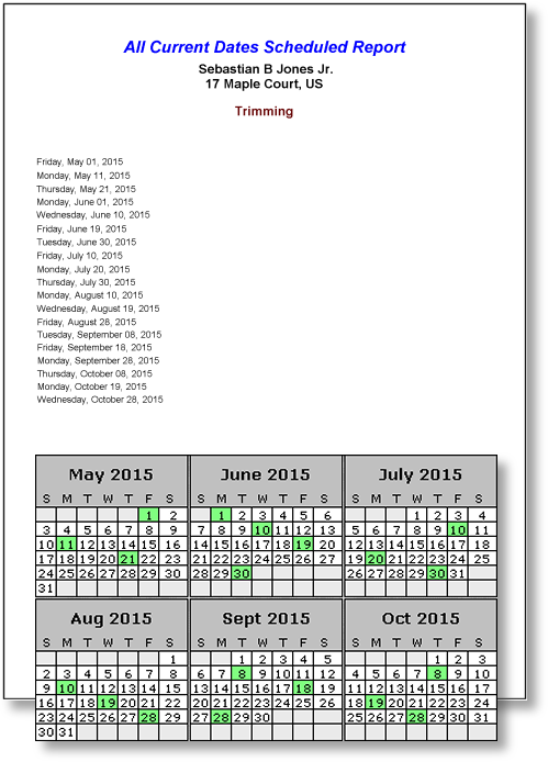 Lawn Care Service Scheduling Software