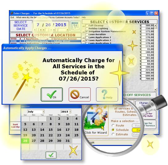 Landscape Lawn Scheduling Software