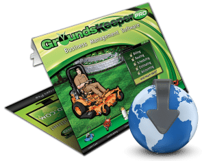 Download GroundsKeeper Pro Lawn Care Business Software