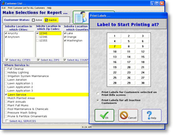 Lawn Service Business Software
