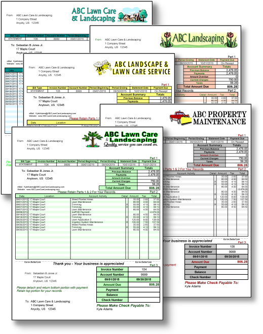 Lawn-Invoices-AdkadTechnologies