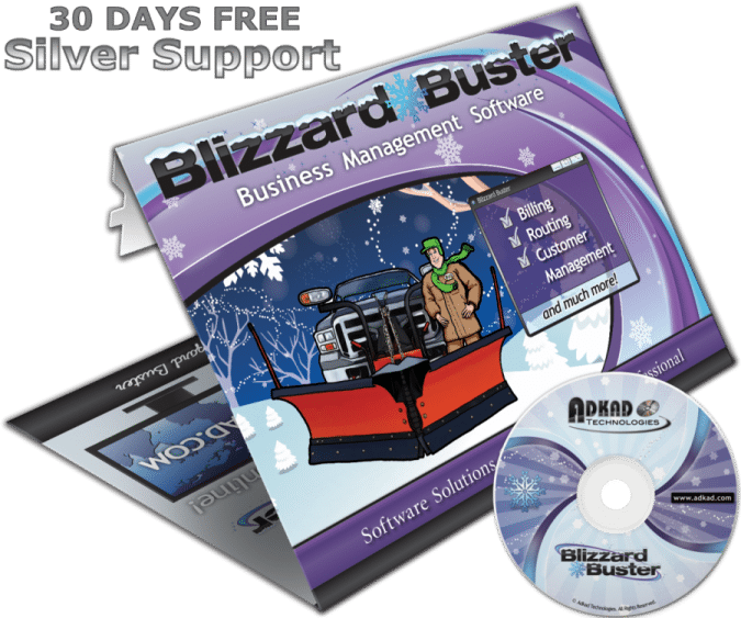 Blizzard Buster Software Box with CD